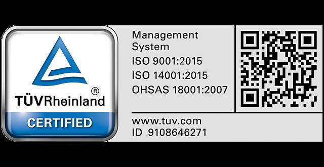 certifikacna znacka TUV